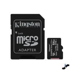 Tarjeta de memoria MicroSD Kingston 64GB